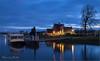 Afgemeerd... (Hans van Bockel) Tags: 1680mm city d7200 front hdr ijssel le nikkor nikon pier rivier stad statief worp