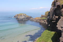 IMG_3749 (avsfan1321) Tags: ireland northernireland unitedkingdom uk countyantrim ballycastle carrickarede carrickarederopebridge nationaltrust landscape green blue ocean atlanticocean island