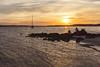 Gibber Point Sunset (whitewithone.net) Tags: australia au newsouthwales nsw portstephens lemontreepassage gibberpoint tilligerrycreek mungarrareserve sunset pelican water bay canoneos6d canonef35mmf2isusm