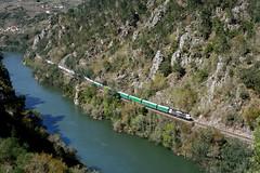 San Pedro do Sil (REGFA251013) Tags: tren train comboio mercancias renfe cemento cosmos tudela de veguin cañon del sil rio
