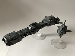Adjudicator and Intercessor (re-up) (Goodratboy) Tags: lego moc space ship spaceship