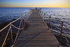 Djerba. (julien ( l'ours )) Tags: canon eos 50d ponton mer see horizon voyage travel sunset couche soleil djerba tunisia tunisie pontoon océan jetée