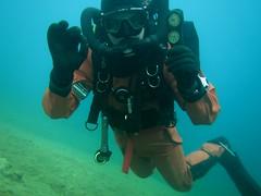 No-limit diving (CZDiver) Tags: scubagear scubadiving scubadiver divinggear doublehosescubaregulator aqualungmistral northerndiverdrysuit rubberdrysuit drysuitdiving scuba drysuit diving sc
