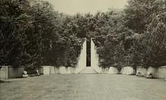 Allerton Park 1932 Sunken Garden, Monticello, IL 1951 (RLWisegarver) Tags: piatt county history monticello illinois usa il