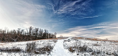 8R9A0623-25Pzl1tscTBbLGERC2 (ultravivid imaging) Tags: ultravividimaging ultra vivid imaging ultravivid colorful canon5dm3 clouds scenic sky sunsetlight winter landscape lateafternoon evening pennsylvania pa panoramic painterly vista path countryscene rural