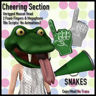 [LJ] Cheering Section - Snakes