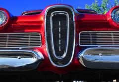 Stable Genius (oybay©) Tags: edsel ford car automobile arizona suncitywest convertible 1959 outdoor vehicle lines red redcar fordmotorcompany suncity suncityarizona
