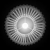Inner circle (Arni J.M.) Tags: bulb innercircle light lightbulb sign paperfold circle screen bw up ceiling windsor england uk