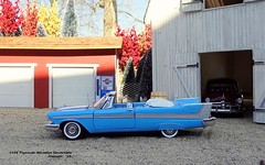 1958 Plymouth Belvedere Convertible (JCarnutz) Tags: 124scale diecast franklinmint 1958 plymouth belvedere