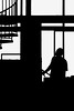 A Second (D()MENICK) Tags: aaw active assignment weekly silhouette man stairs black white bestofweek1 bestofweek2 bestofweek3 bestofweek4