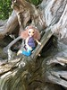 Playing on driftwood at the beach. (geniestewart) Tags: bisou littlefee bjd