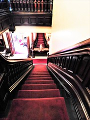 SEEING DOUBLE OR IN A MIRROR (Visual Images1 (Thanks for over 4 million views)) Tags: stairs saturdayforstairs phelpsmansion binghamton newyork