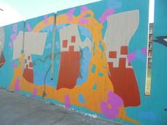 512 (en-ri) Tags: tom arrow nero rosso azzurro arancione torino wall muro graffiti writing