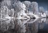 Winter am Rhein; der Eindruck täuscht > 700nm Infrarot lassen den Entstehungsmonat nicht ahnen (chelis6252) Tags: groov rhein infrarot infrared film chelis62 köln