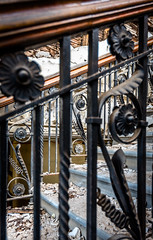 Vintage-Harland-Wolff-offices-stairs (Titanic Belfast) Tags: belfast drawingoffices gocphotography harlandwolff titanic titanichotel