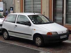 1995 Fiat Punto (harry_nl) Tags: france 2017 mulhouse fiat punto