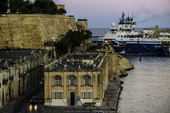 Beautiful and historical Valletta harbor