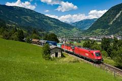 1016 013 & 1144 088 (139 310) Tags: np baureihe österreich 1144 1144088 dg54535 dg zugnummer kbs 1016 kbs220 1016013 tauernbahn taurus badhofgastein salzburg at