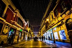 (ma_rohe) Tags: navidad christmaslights christmas street streetlights