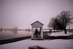 Daugava (IVAN 63) Tags: lielaiskristaps bigchristopher tiga latvia daugava riga lettonia landscape sky city oldcity vecriga cityscapes dugava winter neve inverno travel balticstate natgeo natgeotravel geo