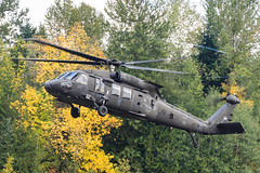 BIGFOOT 221 (Kaiserjp) Tags: 1020221 armycopter221 bigfoot221 ftlewis grayaaf jblm usarmy uh60 uh60m blackhawk military sikorsky helicopter 16thcab sasquatch fall landing plu kplu thunfield puyallup piercecounty