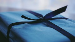 DSC04816-02 (suzyhazelwood) Tags: gifts gift presents wrapping tissue paper blue crafts creativecommons sony a6000
