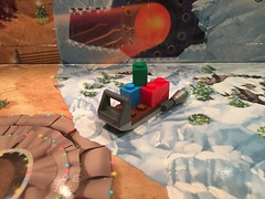 Day 23 (icemanjake624) Tags: legomicrofighter legomicro micro legospaceship spaceship ship space slay gifts gift christmaspresents presents december23rd december 2k17 2017 day23 legoadventcalendar adventcalendar calendar advent christmas legostarwars wars star starwars santa santassled sled legos lego