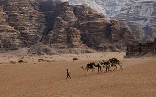 Jordan:  Trekking Across Wadi Rum
