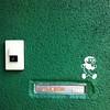 *坊 発見!* (jun.skywalker (enishi hand made cyclecap)) Tags: instagramapp square squareformat iphoneography uploaded:by=instagram iphone iphone4 kyoto japan 飛び出し坊や