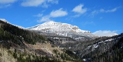 Approaching the Summit (Patricia Henschen) Tags: wolfcreekpass pass mountain mountains sanjuan sanjuanmountains colorado mineral county snow pathscaminhos