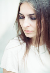 64_000 (11) (newmandrew_online) Tags: filmisnotdead film filmphotografy ishootfilm 35mm canon 1v girl street portrait belarus beauty color summer