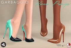 Karen Pumps (Ashleey Andrew) Tags: garbaggio secondlife second life virtual world fashion apparel accessories footwear shoes original mesh