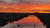 Sunset Gasthuisdijk (andzwe) Tags: sunset winter swans geese swan dutch dutchlandscape drenthe overijssel river ditch canal zonsondergang gasthuisdijk klooster steenwijk meppel vaart