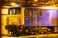 73235 Boxing day evening Bournemouth Depot Explored! (Coolcats100) Tags: 73235 canon 70d dorset bournemouth depot 2017 night train loco england railway diesel south western explored explore