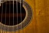 Art in the Instrument #31 - Classical Detail (KWPashuk) Tags: nikon d7200 tamron tamron18400mm lightroom luminar luminar2018 kwpashuk kevinpashuk guitar acoustic classical yamaha details strings indoors instrument music