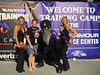 2016_T4T_Baltimore Ravens Training Camp 3 (tapsadmin) Tags: taps tragedyassistanceprogramsforsurvivors teams4taps baltimore maryland nfl football trainingcamp baltimoreravens militaryloss survivor 2016 military outdoor horizontal staff woman cheerleader mascot posed