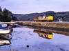 Unusual consist at Golant.. (Rails West) Tags: class37 cornishbranches cornwall foweybranch locations flikr 37695 transrail golant