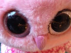 Pink Eye ...... (Mr. Happy Face - Peace :)) Tags: macro eye toy furry funpic pink art2018 opik kids 7dwf