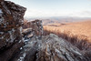 Cold Morning at Windham Rock (Vladimir Grablev) Tags: view rock usa landscape nature nationalpark mountains formation panorama marshall hiking hills appalachian distant shenandoah national beautiful virginia travel north scenic skylinedrive sky park foreground background wilderness valley washington unitedstates us