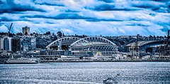 SEATTLE - JUNE 2017: Century Link Field stadium. Home of Seattle Seahawks on June 2017 in Seattle Washington (DigiDreamGrafix.com) Tags: 2017 field home stadium link century seattle seattl sport green play entertainment ball life october line road grand city industry urban cars professional bay shipping highway cityscape landmark soccer baseball football basketball team port state international trade arena parking hit washington 06 seahawks centurylink sounders