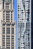 1913 vs 2011 (A Sutanto) Tags: manhattan lower skyline facade buiilding gehry ny nyc usa city woolworth frank 8spruce 8sprucestreet tall skyscraper