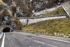 Gallerie del San Boldo (davide on the road) Tags: italy san boldo dolomiti landscape passo mountain road veneto
