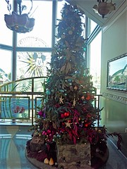 Sea-Themed Christmas Tree at Ariel's Grotto (BeautifulToyReviews) Tags: disneys california adventure park disneyland resort theme ariels grotto restaurant character dining princess christmas tree meet greet