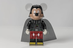 Darth Mickey (jeff's pixels) Tags: macro mondays macromondays doubleexposure lego minifigure starwars darthvader mickey mouse disney toy funny figure