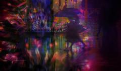 Walking Together (Frances Tsai Film) Tags: city rainingcity colorcity colornight walktogether beautifulnight artcity francestsai 蔡美智