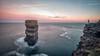 Dún Bríste Sun Rise (mickreynolds) Tags: 2018 atlantic ballycastle comayo downpatrickhead dúnbríste ireland nx500 samyang12mm seastack wildatlanticway sunrise