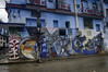 Salvador's Mural on Havana's Callejon de Hamel (Greatest Paka Photography) Tags: cuba hamelalley cayohueso afrocuban mural painting salvadorgonzalezescalona callejondehamel neighborhood streetart artist cultural alley creative havana color streetcorner street