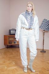 il_fullxfull.1418269923_4ll2 (onesieworld) Tags: exy retro 80s 90s fashion port skisuit onepiece onesie snowsuit woman babe catsuit shiny nylon ski