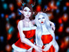 Mother & Daughter (ZameNezrulain (:Etherion:)) Tags: zame luna photo photography photoshop edit art mesh bento avi avatars girls females friends friendship family mother daughter mom sl secondlife second life catwa maitreya hazy okkbye littlebones little bones people