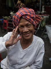 Market lady (Never.Stop.Searching.) Tags: cambodia phnompenh faces people streetscenes